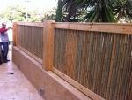 גדר עץ במבוק (2)